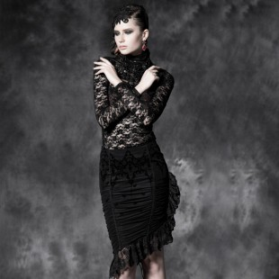 Gothic Nocturnal Charm Skirt