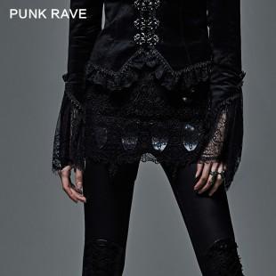 Gothic Mystical Transparency Mini Skirt