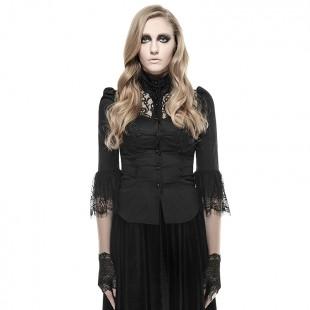 Gothic Dark Leaves Shirt