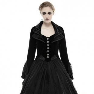 Her Majesty's Gothic Dress