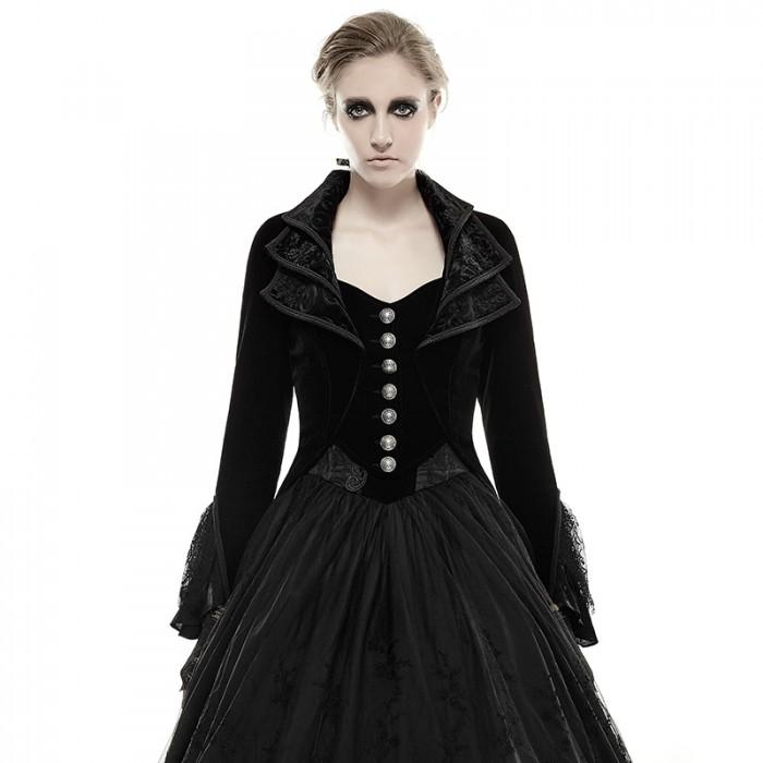 Her Majesty's Gothic Dress