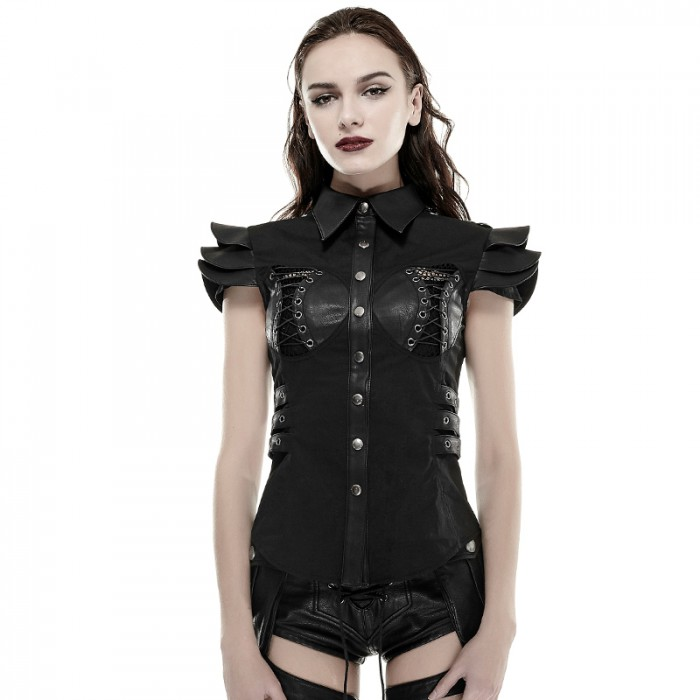 Punk Medieval Armor Top