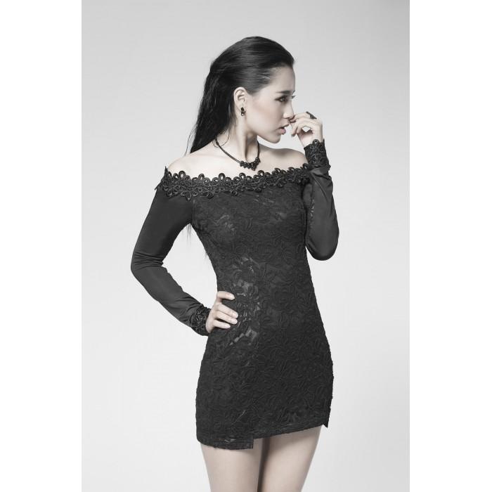 Gothic Black Chemistry Dress