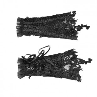 Gothic Gloves and Foot Covers Accessory