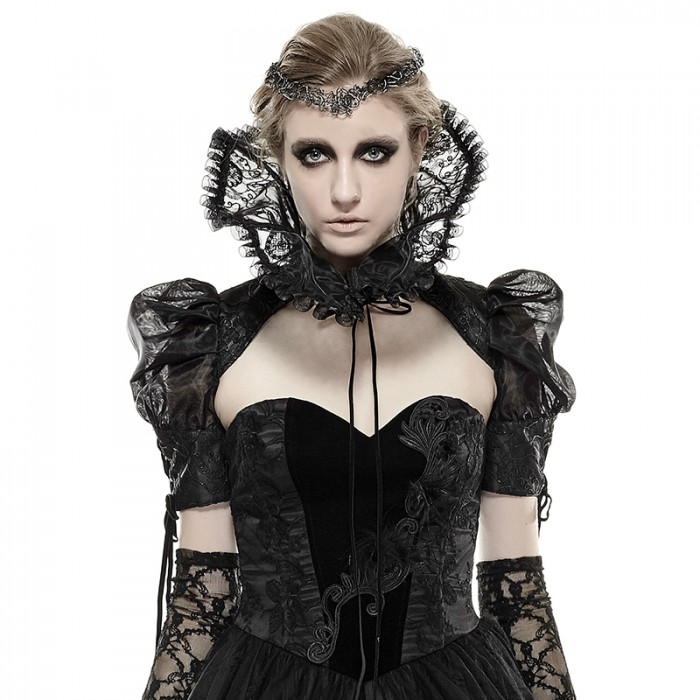 Gothic Contessa Bolero Collar