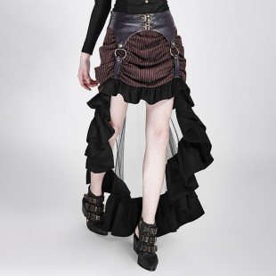 Steampunk Recognizable Woman Skirt