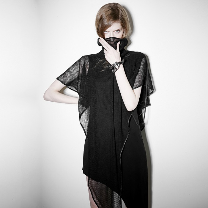 Three Shades of Goth Dress