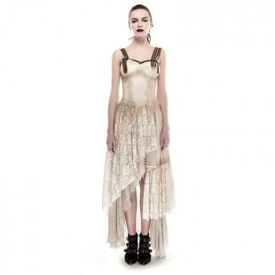 Steampunk Oktoberfest Khaki Dress