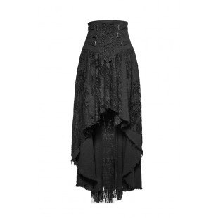 Darkness and Flowers Skirt