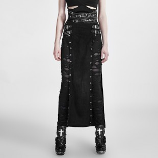 Metallic Personality Skirt