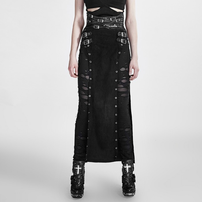 Metallic Personality Skirt
