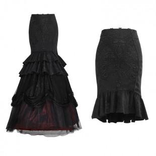 Toxic Flower Skirt - Detachable