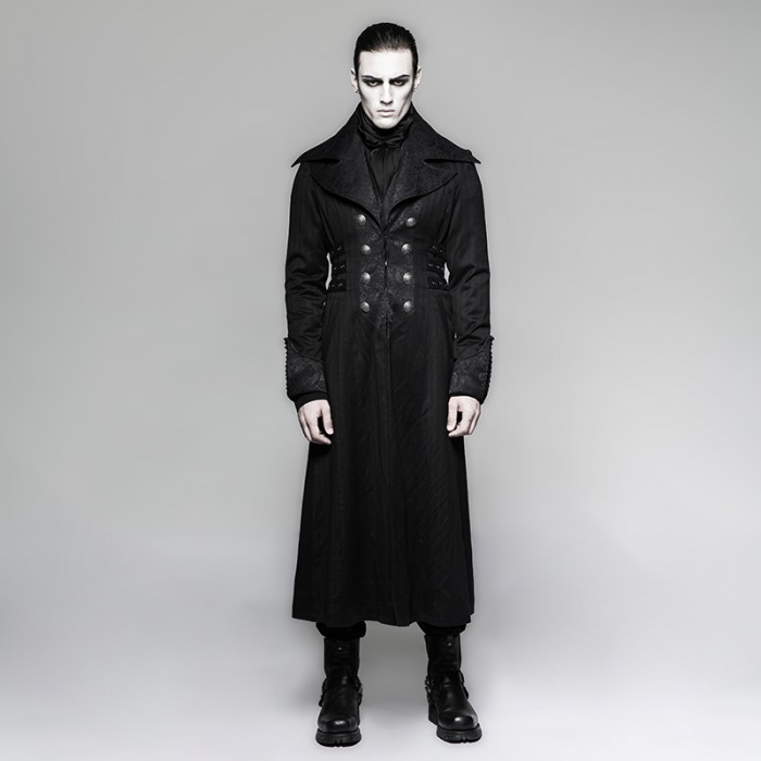 The Scarlet Garden Coat - Black