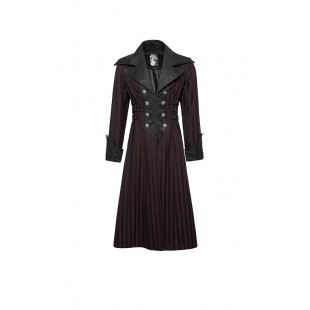 The Scarlet Garden Coat - Red