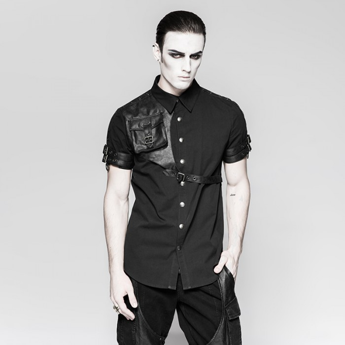 Shady Postman Shirt - Black