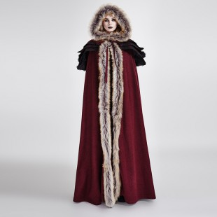 The Revenant Coat - Women - Red