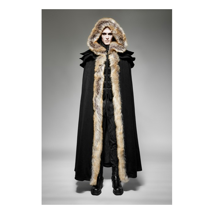 The Revenant Coat - Men - Black