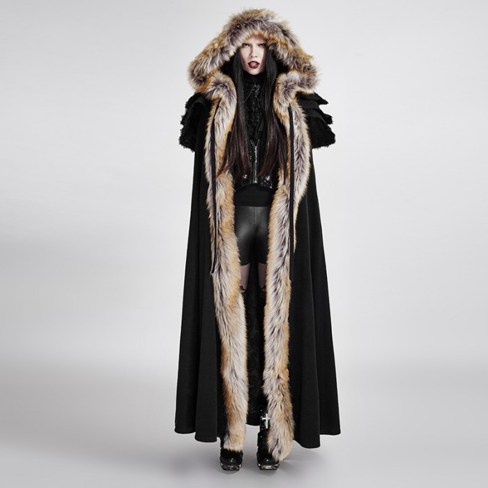 The Revenant Coat - Women - Black