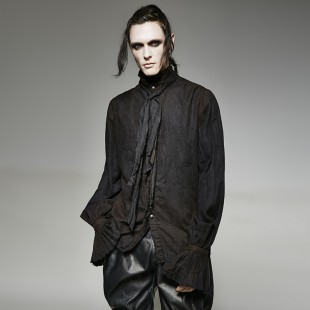 Chemise The Gothic Theory - Noir