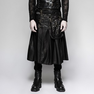 The Wizard's Kilt - Black