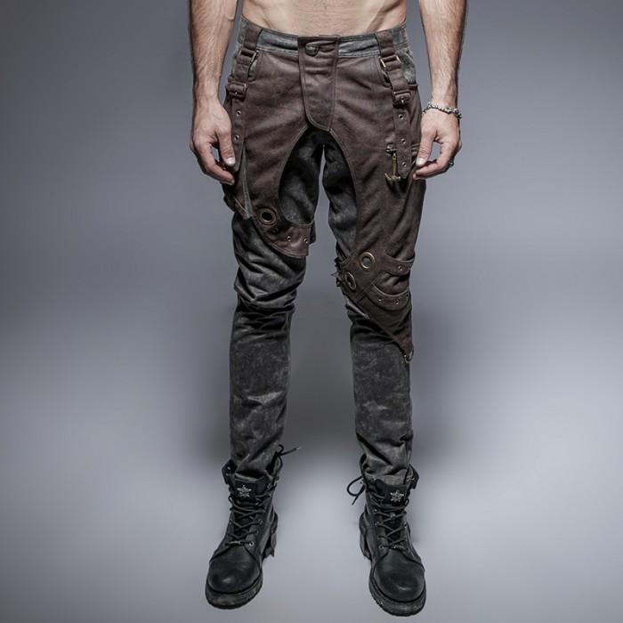 Metal Knight Trousers - Coffee