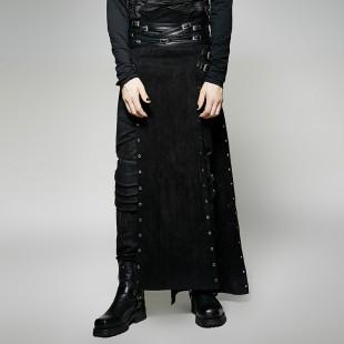 Metallic Personality Skirt - Men