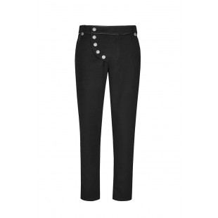 Black March Trousers - Black