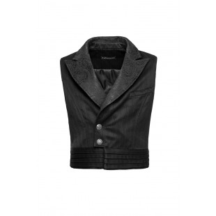 The Scarlet Garden Vest - Black