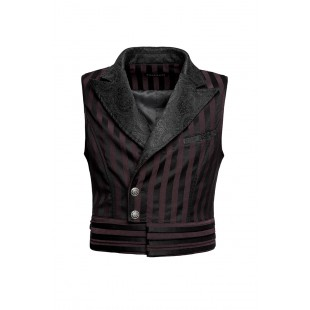 The Scarlet Garden Vest - Red
