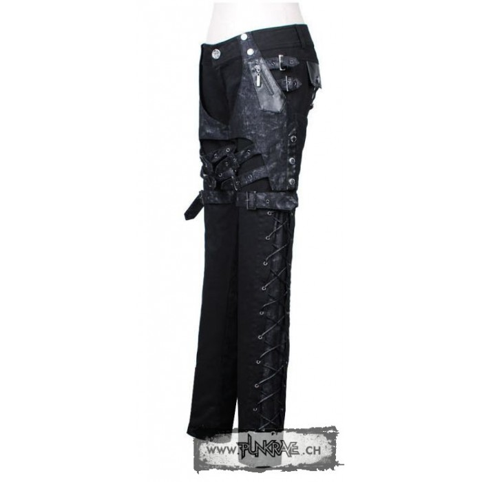 pantalon punk porte pistolet. Black Bedroom Furniture Sets. Home Design Ideas