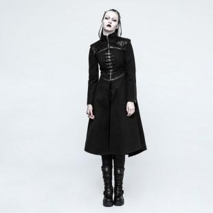 Gothic winterjacke damen