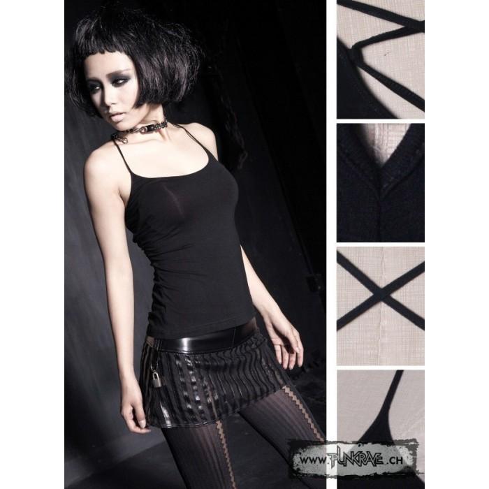 Débardeur noir goth