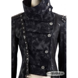 "Veste ""officier"" industrial punk"