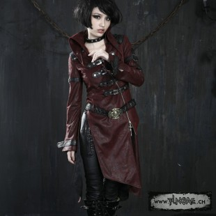 Steampunk mantel rot