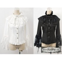 Gothic 3/4 sleeves lolita blouse