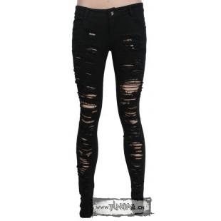 Pantalon skinny visual key