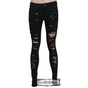 Pantalon skinny visual key