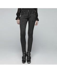 jeans Pour jupe Punk Rave Femme Pantalon Visual Gothic Lolita Kei x6TqwfOA0