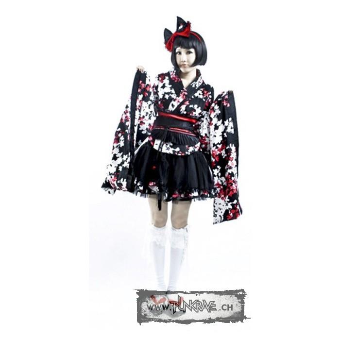 Robe kimono wa lolita