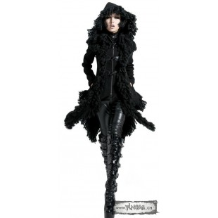 Veste noire gothique