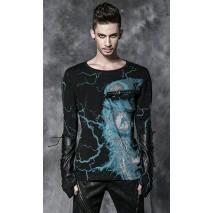 Gothic lightning t-shirt