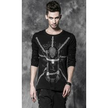 Gothic chains t-shirt