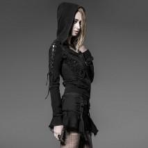 Punk laced hoodie