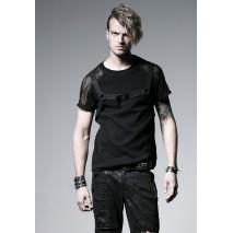 Gothic mesh tshirt