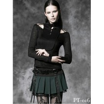 Gothic cut-out top