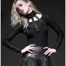 Punk mesh sweater