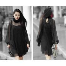 Gothic lace tunic