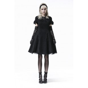 Kleid Gothic Gothic Kleine Schwarze Kleine shdxQrtC