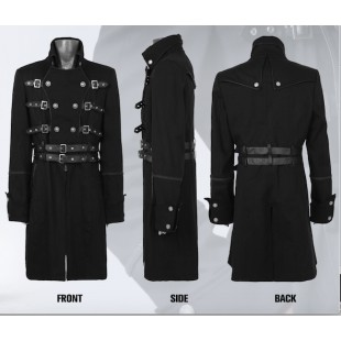 Army Style Aristocrate Long Coat