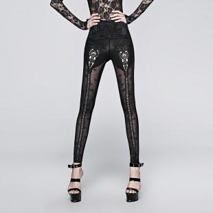 Gothic Rose Jacquard Legging
